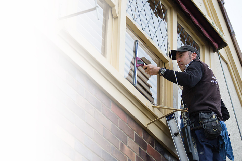 Melbourne's trusted window cleaner